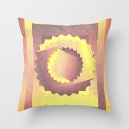 Twisted in the sky Throw Pillow