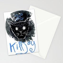 Killjoy Kitty Stationery Cards