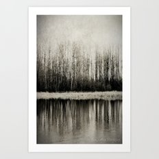 Solitude Revisited Art Print