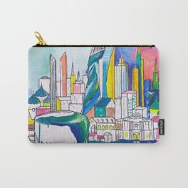 Color Urbanization Carry-All Pouch