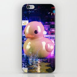 Rubber Duck Alley iPhone Skin