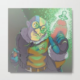 Space Ranger Metal Print