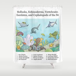 Go Fish! Shower Curtain