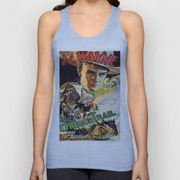 Vintage poster - The Oregon Trail Unisex Tank Top