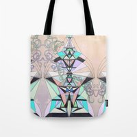 aztec Tote Bags featuring Aztec by QUEQZZ