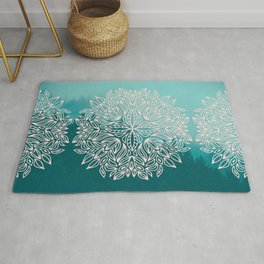 Mandala Forest Dawn Rug