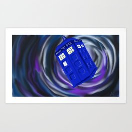 In the Vortex Art Print