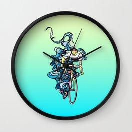 Road Bike Wall Clock