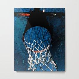 Modern basketball art print cx 2 Metal Print