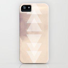 Geometric Waterfall (Rose Gold) iPhone Case