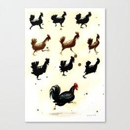 Chicken run Canvas Print