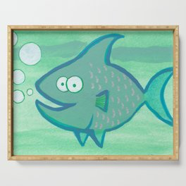 Happy Fish!!!! Serving Tray