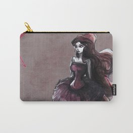 The Lady in Pink Carry-All Pouch