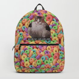 Loops Brother Kitty Backpack