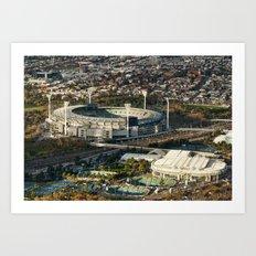 The MCG (Melbourne Cricket Ground) Art Print