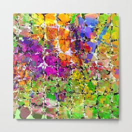 Color Buzz Metal Print