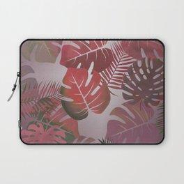 Tropical Autumn Leaves Laptop Sleeve