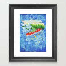 Once in a Dream Framed Art Print