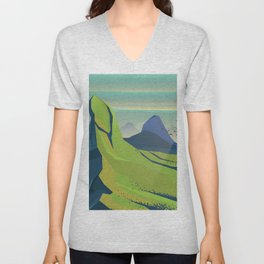 Grand Landscape Unisex V-Neck