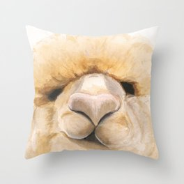 Alpaca What? Throw Pillow