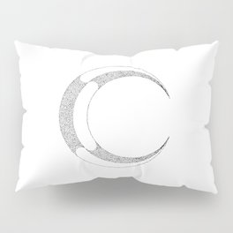 Metal Moon Pillow Sham