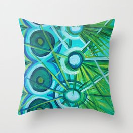 Spores Throw Pillow