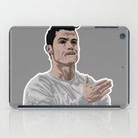 ronaldo iPad Cases featuring Cristiano Ronaldo by siddick49