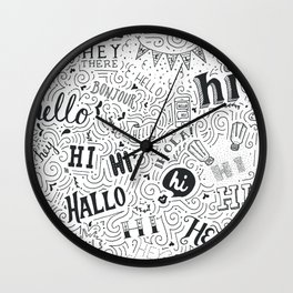 Why, hello there! Wall Clock