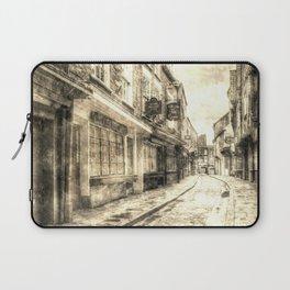 The Shambles York Vintage Laptop Sleeve