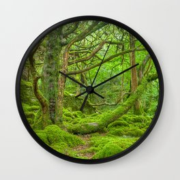 Emerald Forest Wall Clock