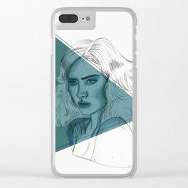 She, Transparent Clear iPhone Case