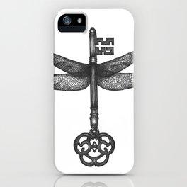 Dragonfly Key iPhone Case