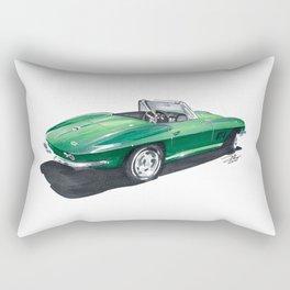 Corvette Stingray. Rectangular Pillow