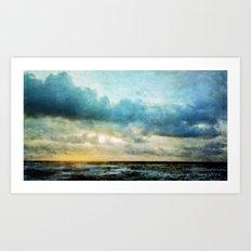 The Magical Sea  Art Print