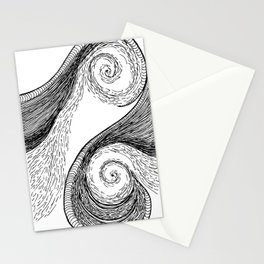 Oceanic Rage Stationery Cards