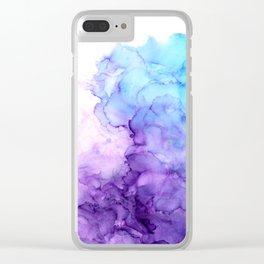 Handful of Clouds II Clear iPhone Case