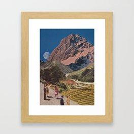 Sightseers Framed Art Print