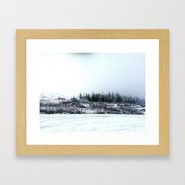 Dark Pass Framed Art Print