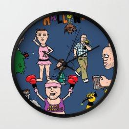 UG Freak Show Wall Clock