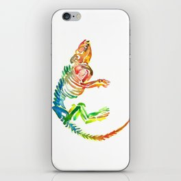 Mammal Fossil Skeleton iPhone Skin