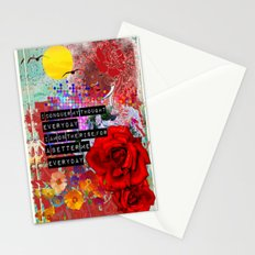 better me Stationery Cards
