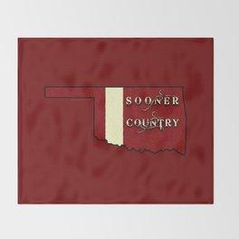 SOONER COUNTRY - 003 Throw Blanket