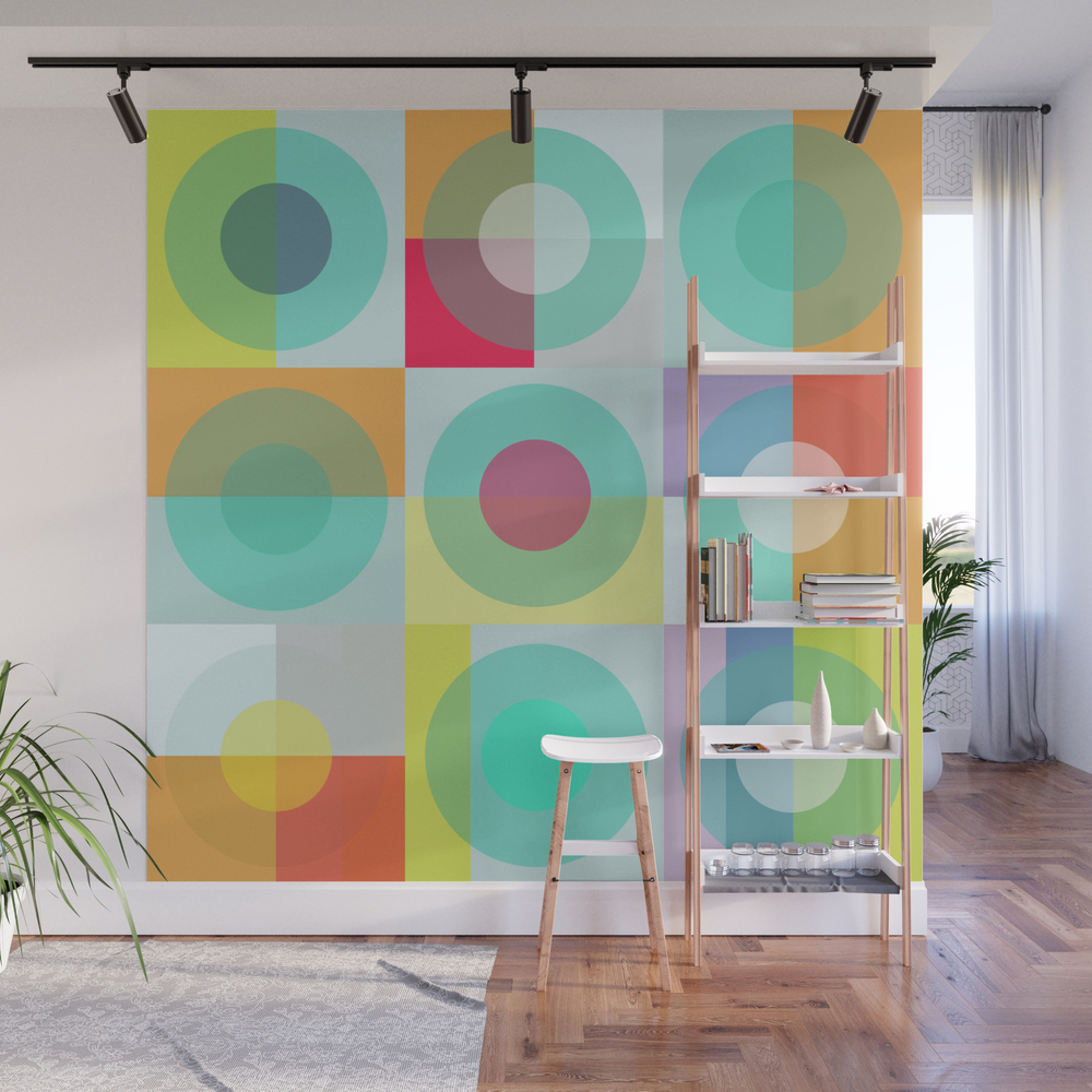 Noughts & Crosses Wall Mural by Lisajaynemurray WMP8078199