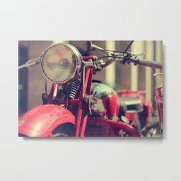 Old style Moto Guzzi Metal Print