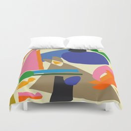 Abstract morning Duvet Cover