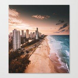surfers paradise beach Canvas Print