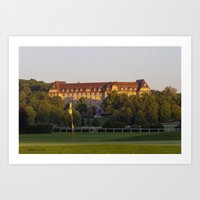 hotel ermitage Art Print