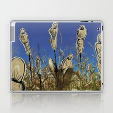 Human cornfield /Maizal humano Laptop & iPad Skin