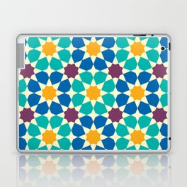 Moroccan pattern, Morocco. Patchwork mosaic with traditional folk geometric ornament Laptop & iPad Skin
