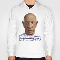 pablo picasso Hoodies featuring Celebrity Sunday ~ Pablo Picasso by rob art | illustration